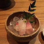 ろっこん - 天ぷら御膳の小鉢〜( ^ω.^ )ψ