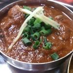 カビール - ○+マトンカレー (針生姜の形でカレーの種類をおぼえたのはひみつです)
