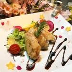 PLANET BAR 星蔵 - 春限定の美桜鶏の桜星コンフィ