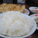 餃子の王将 - ライス大!