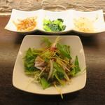 肉バル SHOUTAIAN - 前菜とサラダ