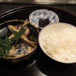 割烹 いわき - 琵琶湖産天然あゆの揚げ物