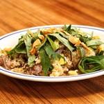 トラットリアモッチ - ☆伊賀牛のガーリック焼飯