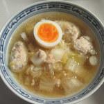 味の蔵  - 鶏スープとつみれラーメン