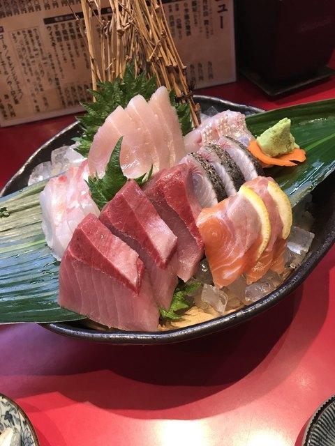 魚料理の店 鮮魚まるふく - おまかせお刺身盛り