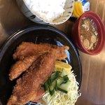 鳥忠食堂 - ささみかつ定食