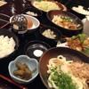 木酢鶏天然黒石焼 讃 - 料理写真: