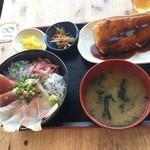 大間新栄丸 - 地魚丼セット