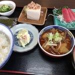 せき食堂 - 料理写真:がっつりセット(¥780)