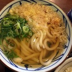 丸亀製麺 - かけうどん