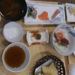 最呂部居屋 - 夕食(宴会料理だったような?)