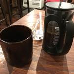 ミューズ カフェ - ランチのコーヒー