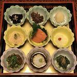しげの家 - 料理写真:9つの小鉢