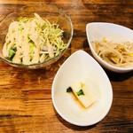 イベリコ豚おんどる焼 裏渋屋 - サラダ&小付2点!