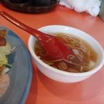 揚子江 - スープ♪ 化・調ぽくなくて優しいお味♪