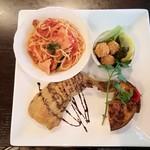 イタリアントマトクラブファースト - 野菜たっぷりスペシャルプレート