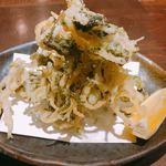 82067764 - 白魚の生のり天ぷら 780円