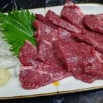 きよし - 馬刺(380円)
