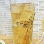 平塚タッカンマリ - ウーロンハイ