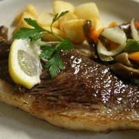 レストラン ベリンバウ - 国産イチボステーキ、一度食べたら忘れられないお肉