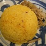 なんば - 若鶏のマッサマンカレー(ライス)