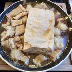 丸亀製麺 - 牛もつ豆腐