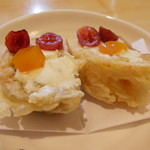 藤よし - チーズ、パンの揚げ物