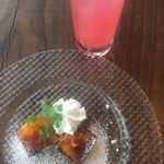 ピグボッテ - デザートとピンクレモネード