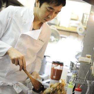 ベジタリアン料理界のパイオニア大平シェフプロデュースのお店。
