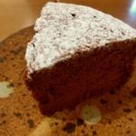 なかたに亭 - チョコレートケーキ