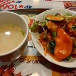 ネパールキッチン クマリ - サラダとスープ