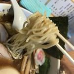 82075956 - 麺は、つるっとした喉ごし。