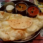 ネパールキッチン クマリ - ダブルカリーセット