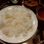 ネパールキッチン クマリ - お代わりで来たライス