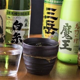 食材の美味しさを引き立てる日本酒