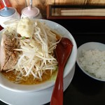 にらなんばんラーメン 香麺 - 料理写真:肉一枚辛味噌豪麺