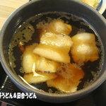 うどん 槇 - 肉汁