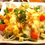82080626 - 鶏チーズミモザサラダ(ハーフサイズ)490円