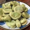 花の山 - 料理写真:そら豆