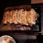 旨唐揚げと居酒メシ ミライザカ - 羽ツキ餃子。美味しかったよー