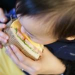 ロンネフェルト・ティ・サロン・名古屋 - サンドイッチをいただきます