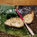 旬鮨季酒 赤石 - 鰆の山椒焼き。山椒がぴりりとアクセントになっています。