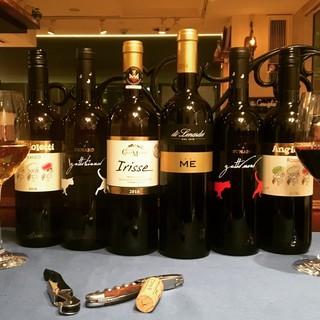 ◇ワイン約50種、カクテル、イタリア産オーガニックジュース◇