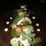 ファリーナ フレスカ - チキンと旬野菜のグリルサラダ