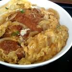 満腹食堂 - 美味しいカツ丼。