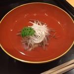 御りょうり屋 伊藤 - 白魚 沢煮椀