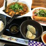 中華ダイニングバル ぱんだ - 日替わりランチ(麻婆拉麺)