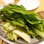 82090610 - チシャ菜野菜食べ放題