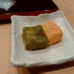 鮨 千花 - デザートにわらび餅