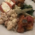 トラットリア イル・パチョッコーネ - 彩り野菜の盛り合わせ